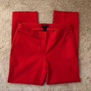 Rachel Zoe Red Cropped Pants